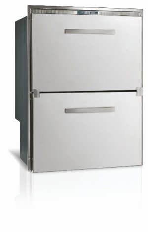 Vitrifrigo DW180 Double Drawer Refrigerator/Freezer, Flush Flange