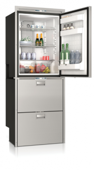 Vitrifrigo DW360 (10.6 cu. ft.) Stainless Steel Refrigerator & 2 Drawer Freezer with Ice Maker