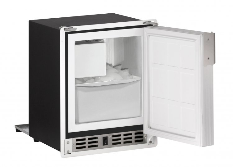 U-line low-profile Icemaker, 220-240V, White - Click Image to Close