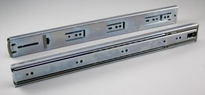 Drawer glide rails (2 pc set) 16″